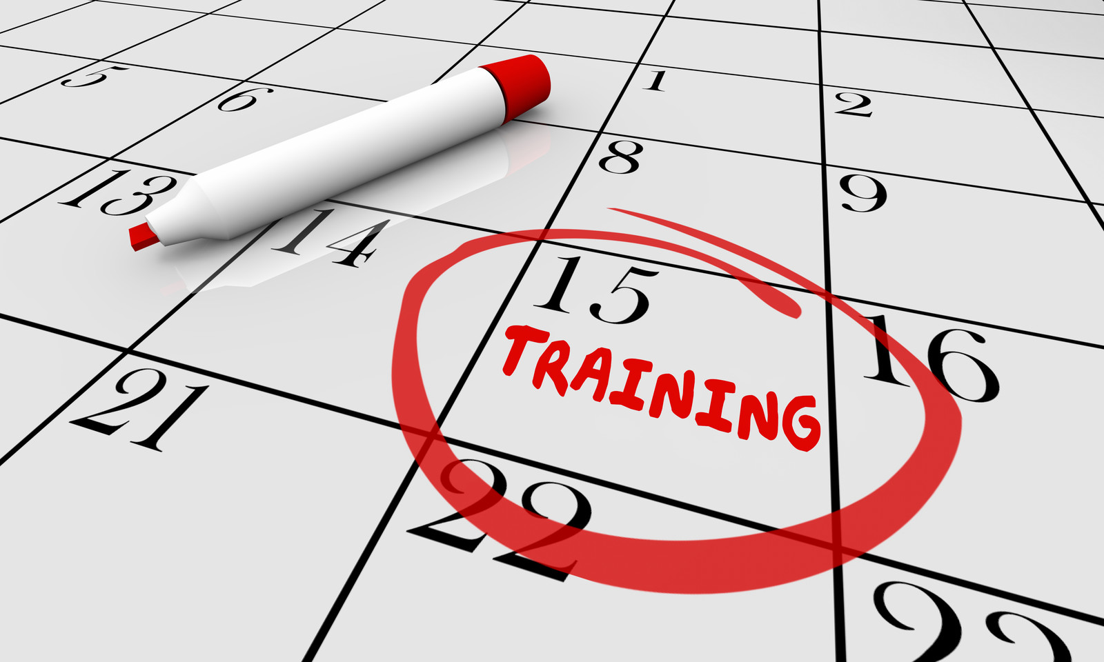 Click for Training Schedule